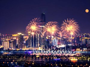 Fireworks in Changsha