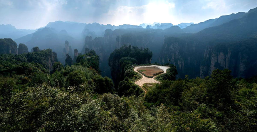 The deepest area in Avatar World, Zhangjiajie