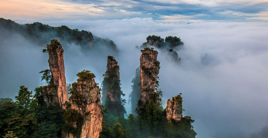 One of rhe most spectacular  spot in Zhangjiajie