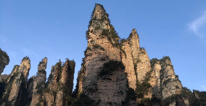 The most well-known scenic area in Zhangjiajie