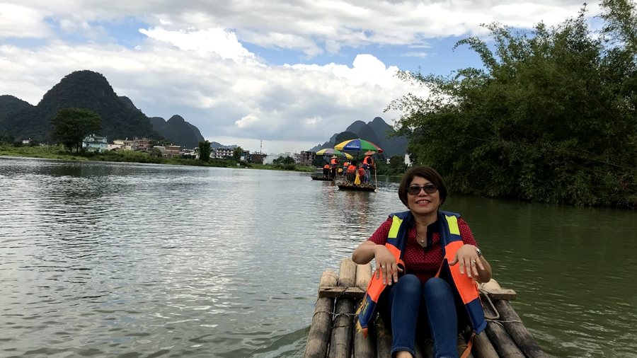 Guiling Yulong River Rafting
