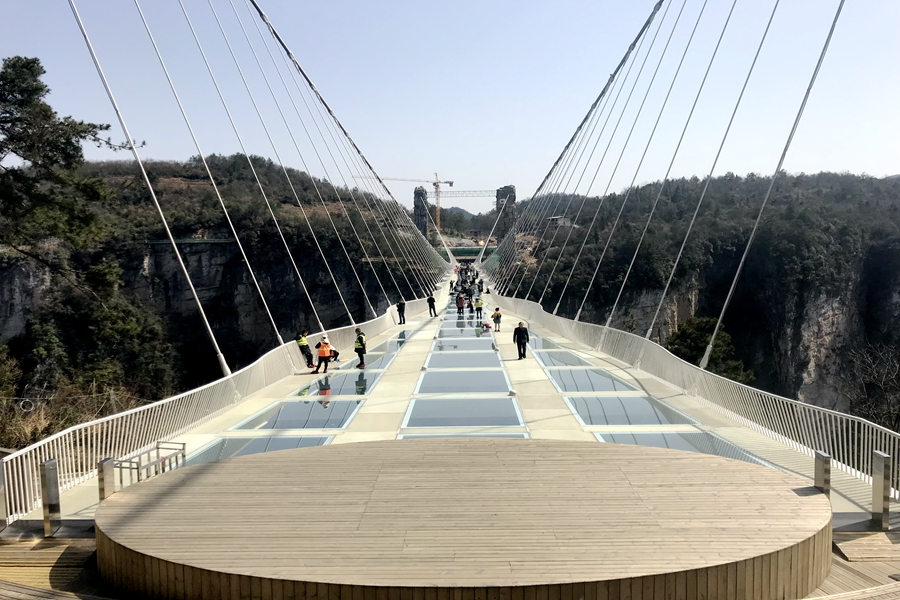 Zhangjiajie Glass Bottom Bridge